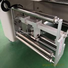新科力伺服理料瓶子套袋包装机 空瓶子PO袋自动套袋机 单个瓶子打包机KL-T350X