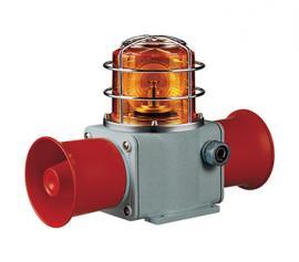 可莱特SHD2LR-WS/WA船用声光报警器LED双喇叭结构