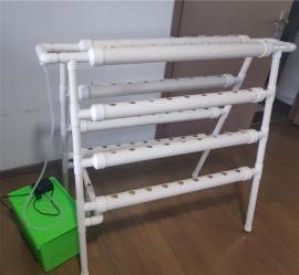 水培�N植�C水培植物架自�铀�循�h生�B系�y蔬菜�N植架水培管道架