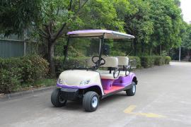 4座会所车,4座电动高尔夫球车LQY047
