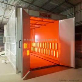 喷粉高温烤房报价,红外线高温电加热烤房非标定制