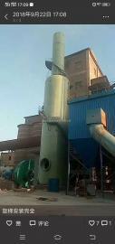 华强*生产BTL型10吨玻璃钢烟气脱硫塔