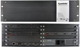 青象9进9出4K矩阵HDMI切换器HDCP解析拼接处理器