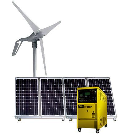 1.2KW风光互补供电系统