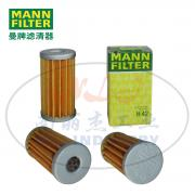 MANN-FILTER(曼牌滤清器)机油滤芯H42