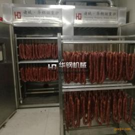 500公斤腊肠熏烟炉 环保新型烟熏机