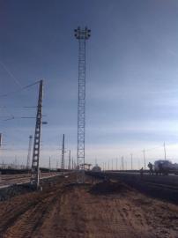 21.5米SDT升降式投光灯塔