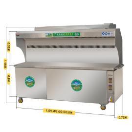 �o����烤烤�t,商用�h保木炭移��[��,不�P��o油���艋�器。