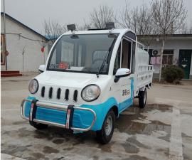 新能源电动四轮洒水车2方3方小型工地降尘车