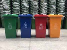 卫生院医疗废弃桶-景区分类垃圾桶-挂车桶