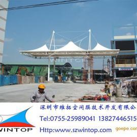 建筑入口膜结构工程设计安装