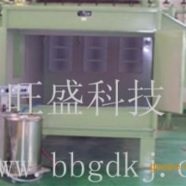 滤清器手动喷粉房,滤清器喷粉房,喷粉生产线
