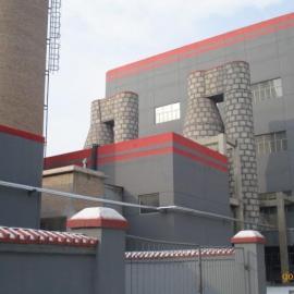 moudaxing电厂在运行中de启动锅炉脱硫除尘