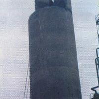 烟囱拆除烟囱内衬 拆除水泥烟囱拆除