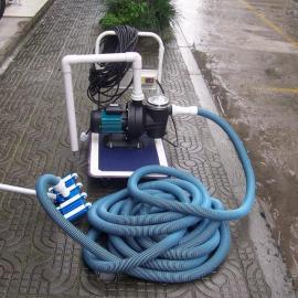 供应游泳馆清洁设备-手动吸污机