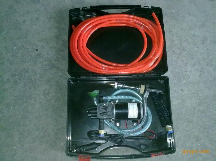式电动洗车器 直流水泵 高压洗车器图片