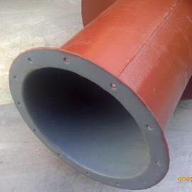 酸性气体治理管道撑塑防腐除尘器