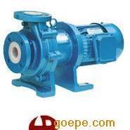 CQB65-50-125F耐酸氟塑料磁力泵/防爆�r氟磁力泵