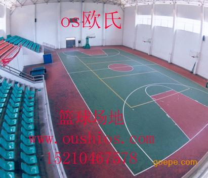 篮球场馆专用防滑运动地胶 篮球场专用PVC运动地板 沈阳天韵篮球场运动地胶厂