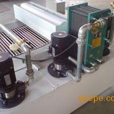 纸带过滤系统配合热交换器使用